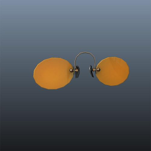 prince glasses 3d ma