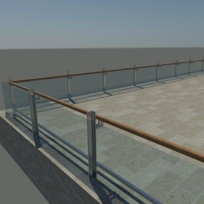glass railing max