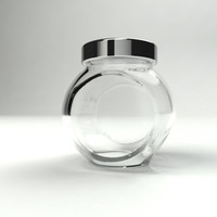 3d model spice jar