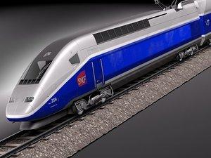 tgv 2011 train passenger 3ds