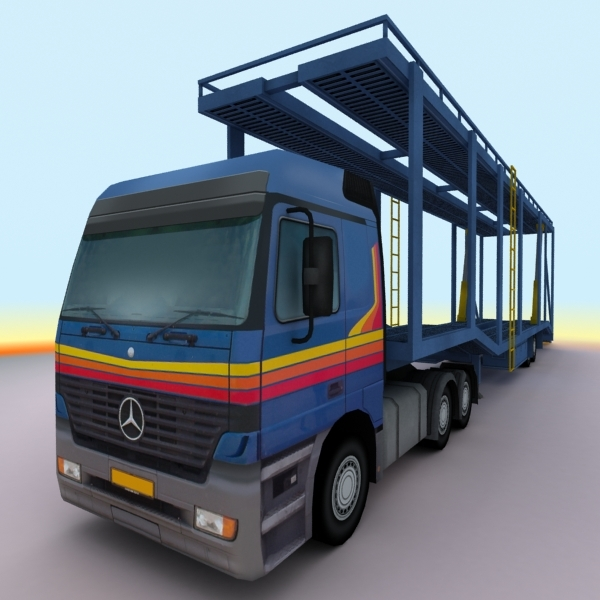 3ds 2000 mercedes actros trailer