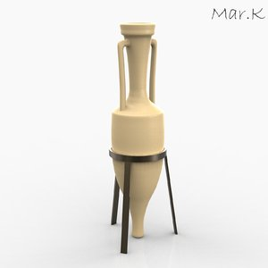 3ds max amphora