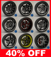 3d asanti 160 series wheels