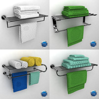 max towel rack bathroom