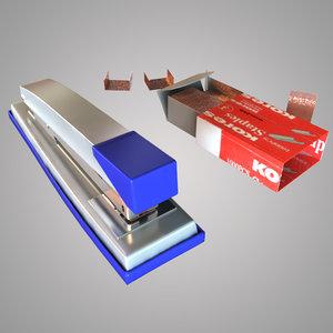 max stapler modeled 2010