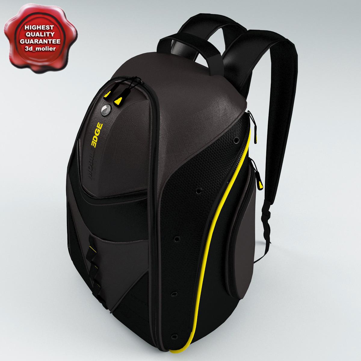 backpack expresss modelled 3d model