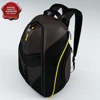 backpack expresss modelled 3d model