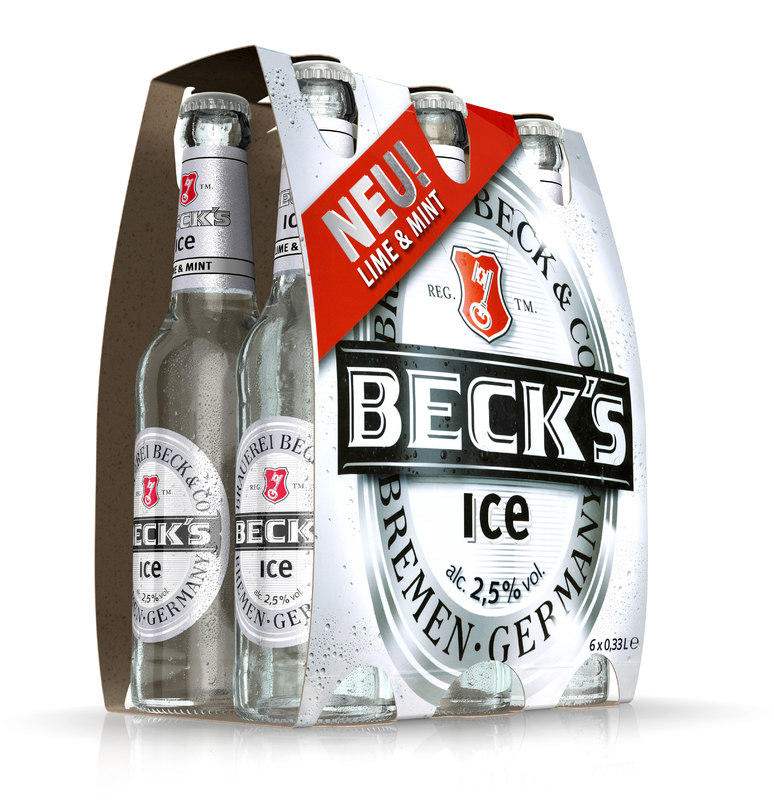 3d modeled bottle pack becks