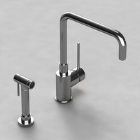 blancomasters-duo mixer taps 3d model