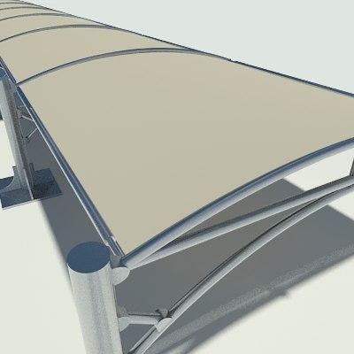 3dsmax car canopy