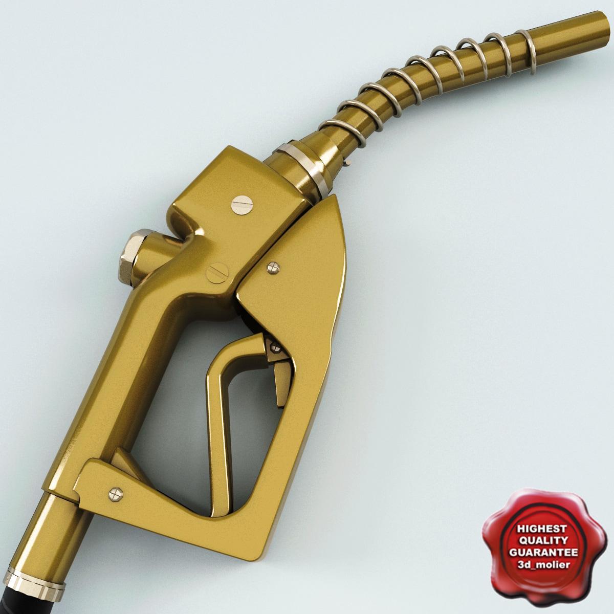 3d model of gas pump