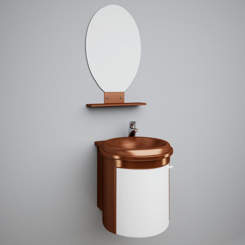 3d icp 4750 wash-basin