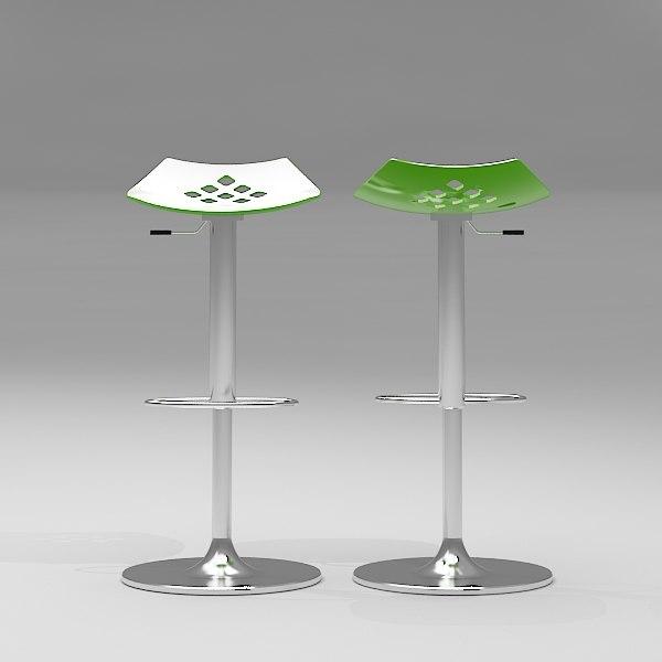 jam bar stool 3d max