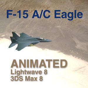 f-15 c eagle - 3d max