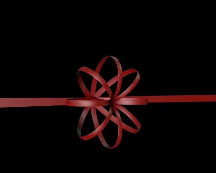 free c4d model ribbon