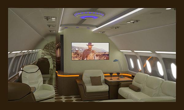business seat 3d obj