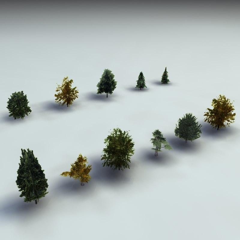 3ds tree