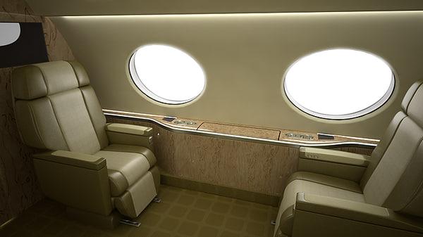 3d single seat model