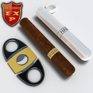 cuban cigars guillotine c4d