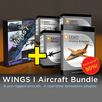 Wings I - Aircraft Bundle - 8 Aircraft and 4 Plugins