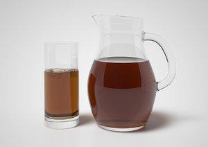 obj iced tea