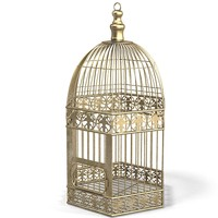 cage bird classic wire lattice bronze brass