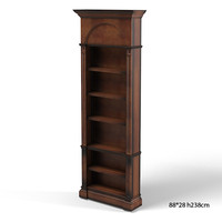 HABERSHAM 23-3432 classic traditional cupboard bookcase etagere