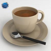obj cup coffe coffee