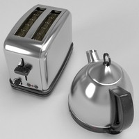 Kettle & Toaster set