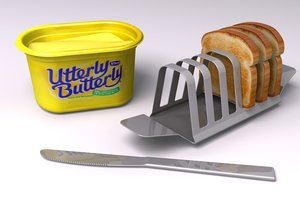 3ds max toast butter