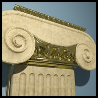 pilaster ionic max
