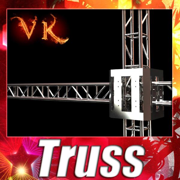3d truss - model