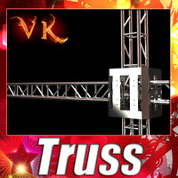 Truss System - High Detailed.