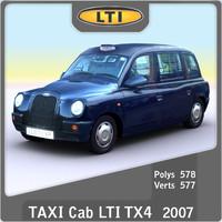 2007 London Taxi Cab