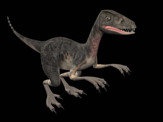 maya realistic dinosaur