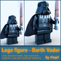 Lego character - Black sith