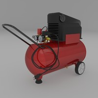 3ds oilless air compressor