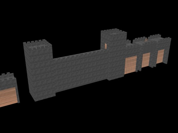 wall gates 3d max