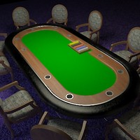 poker table chairs max