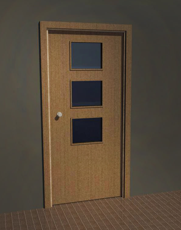 3d model revit door for Door 3d model