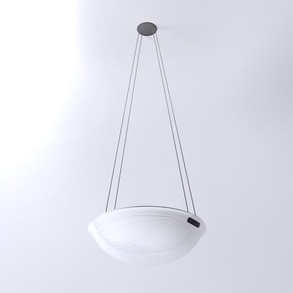 artemide zsu-zsu suspension lamp light 3d model