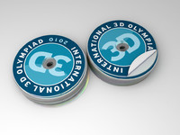 3d model of cds