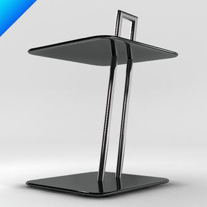 3d occasional table eileen gray model