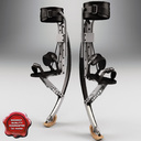 jumping stilts 3D models
