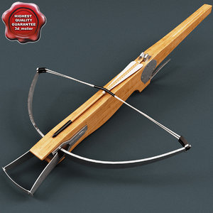 medieval crossbow 3d max