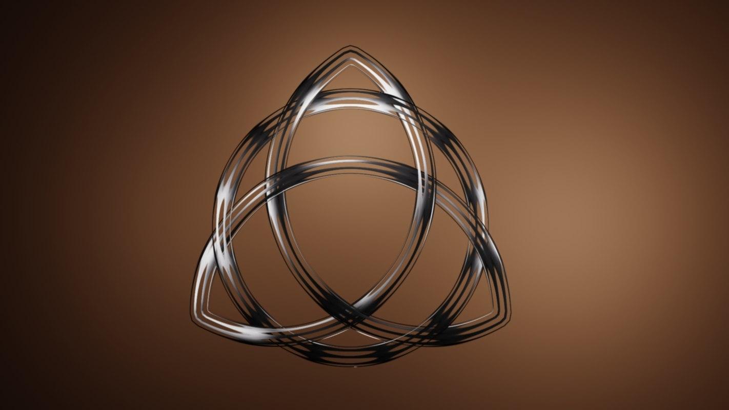 celtic knot eternity 3d model