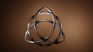 celtic knot eternity 3d model