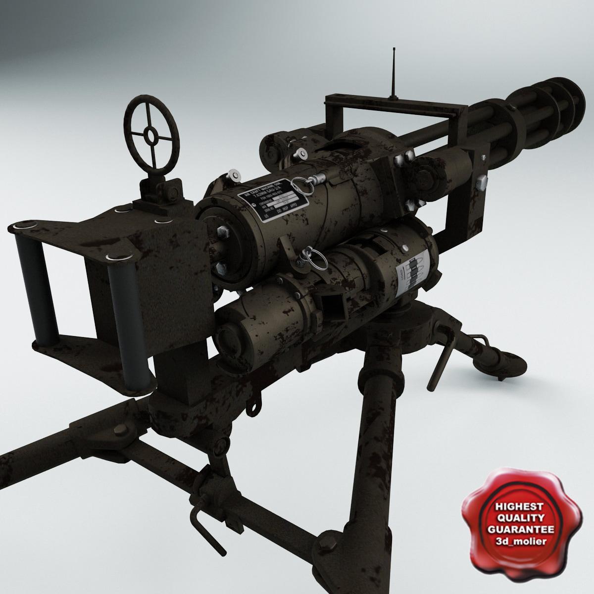 minigun m134 tripod mount max
