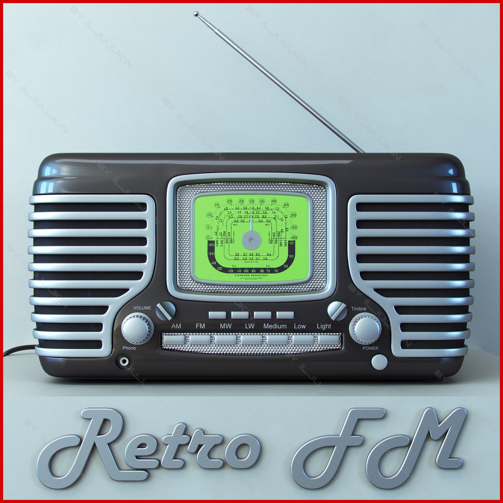 retro radio 3ds
