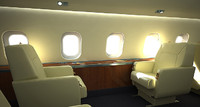 business Aircraft single Seat